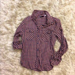 BDG button down flannel